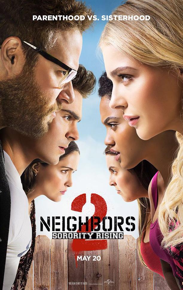 Neighbors 2, poster