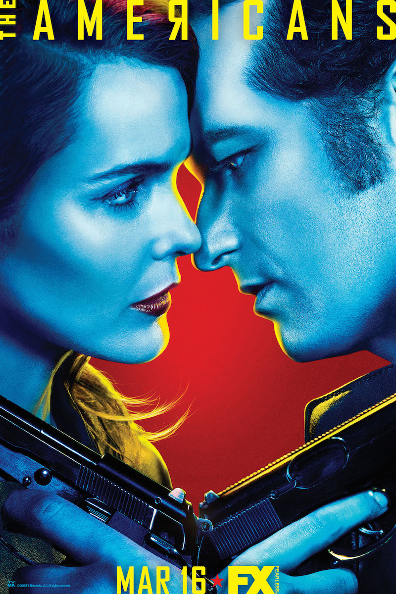 """The Americans"" Season 4 Poster"