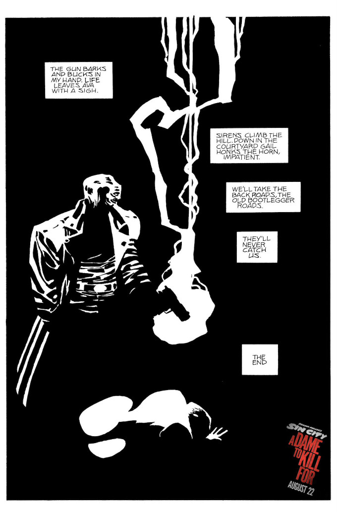 Sin City: A Dame To Kill For Storyboard