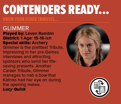 Hunger Games Glimmer Profile