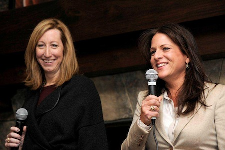 Keri Putnam (left) and Cathy Schulman