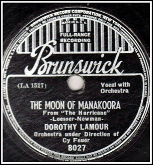 Moon of Manakoora-on vinyl