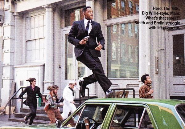 Men In Black 3 Will Smith Josh Brolin Magazine Scan skip crop