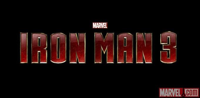 Iron Man 3, logo