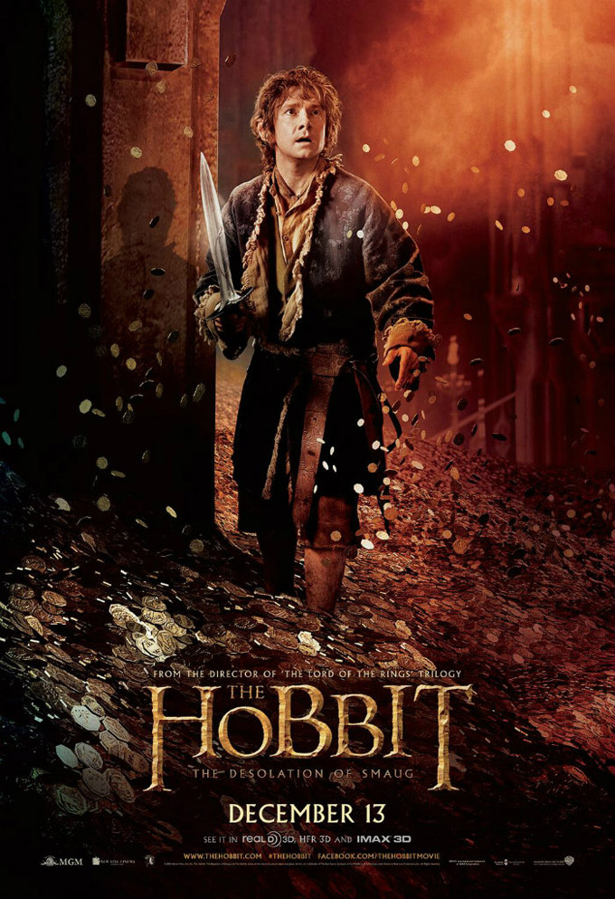 The Hobbit: The Desloation Of Smaug Poster