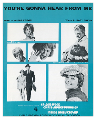 One of best movie songs of the '60s, 'You're Gonna Hear From Me'