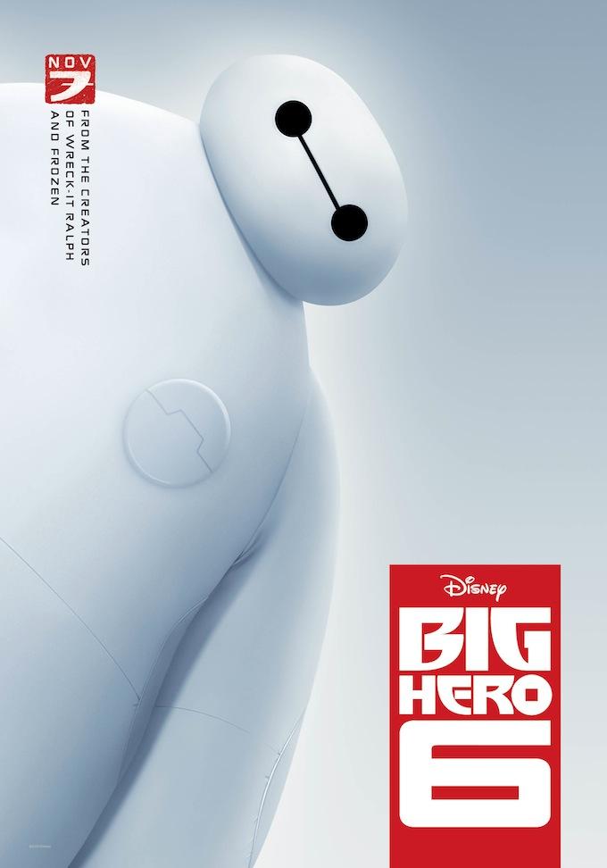 Big Hero 6, poster
