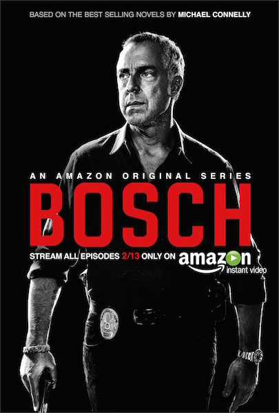 exclusive poster for amazon studios bosch casts its cop. Black Bedroom Furniture Sets. Home Design Ideas