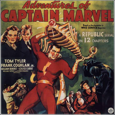 Captain Marvel six sheet-404