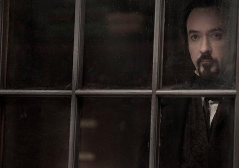 John Cusack in The Raven-485