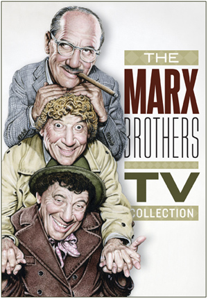 Marx Bros caricature by Drew Friedman