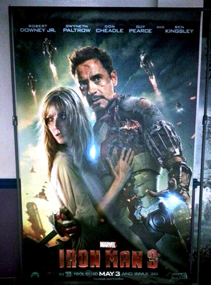 Iron Man 3, new poster