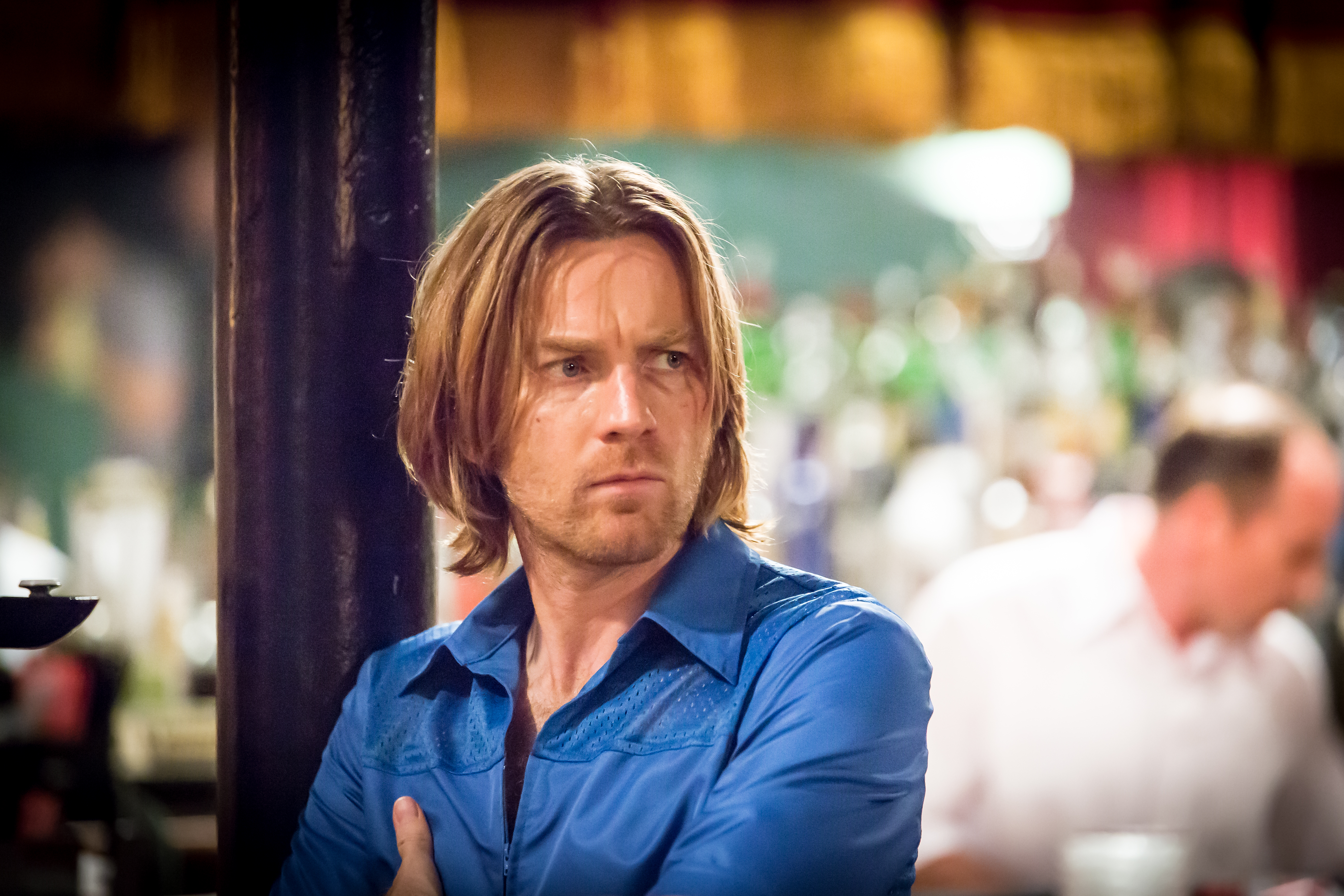 "Ewan McGregor in ""Miles Ahead"""