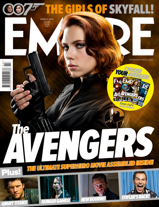 The Avengers Black Widow Empire Cover