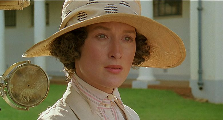 Image result for out of africa meryl streep