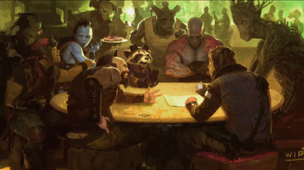 Guardians Of The Galaxy Concept (skip crop)