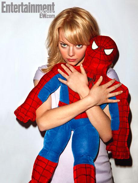 Amazing Spider-Man Emma Stone skip crop