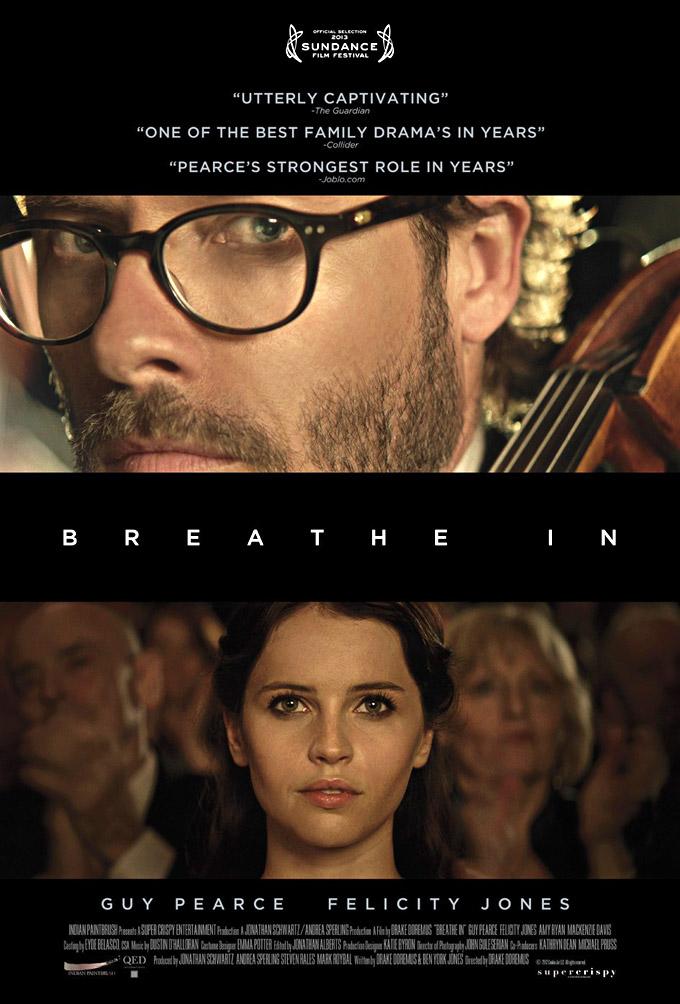 Breathe In, poster