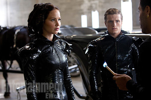Hunger Games Jennifer Lawrence Josh Hutcherson EW