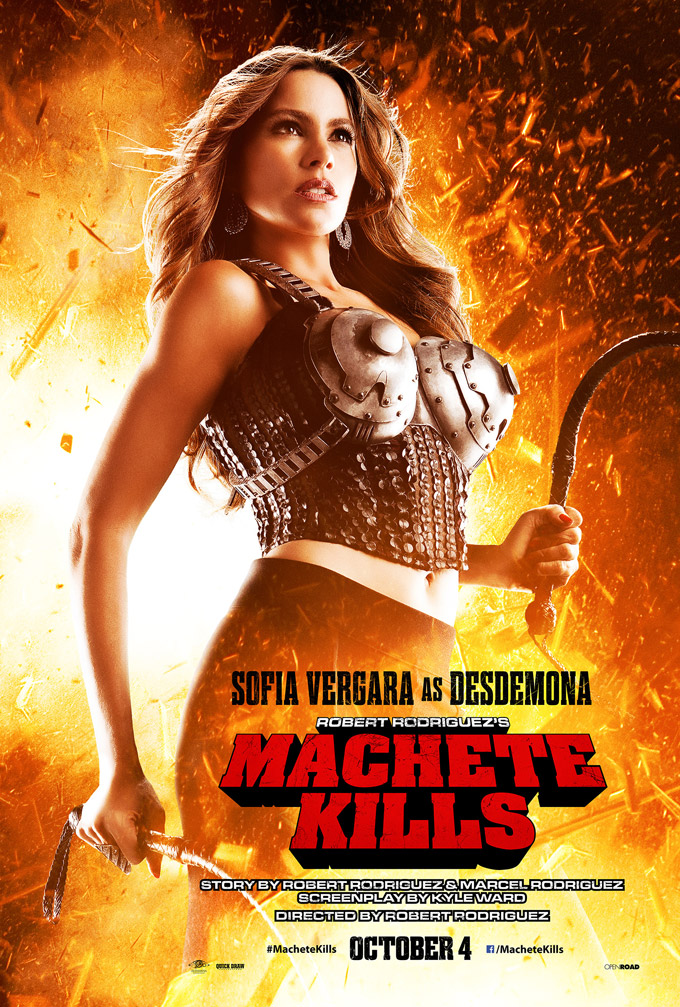 Machete Kills Poster