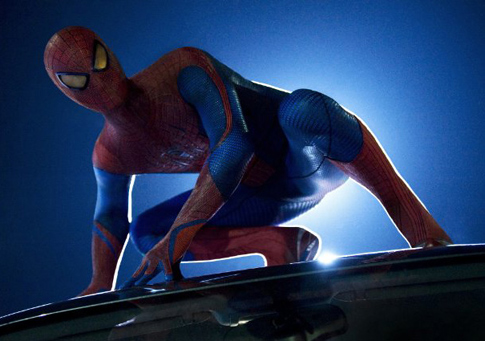 Andrew Garfield-Amazing Spiderman