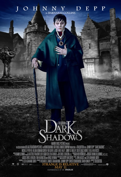 Dark Shadows Poster Johnny Depp