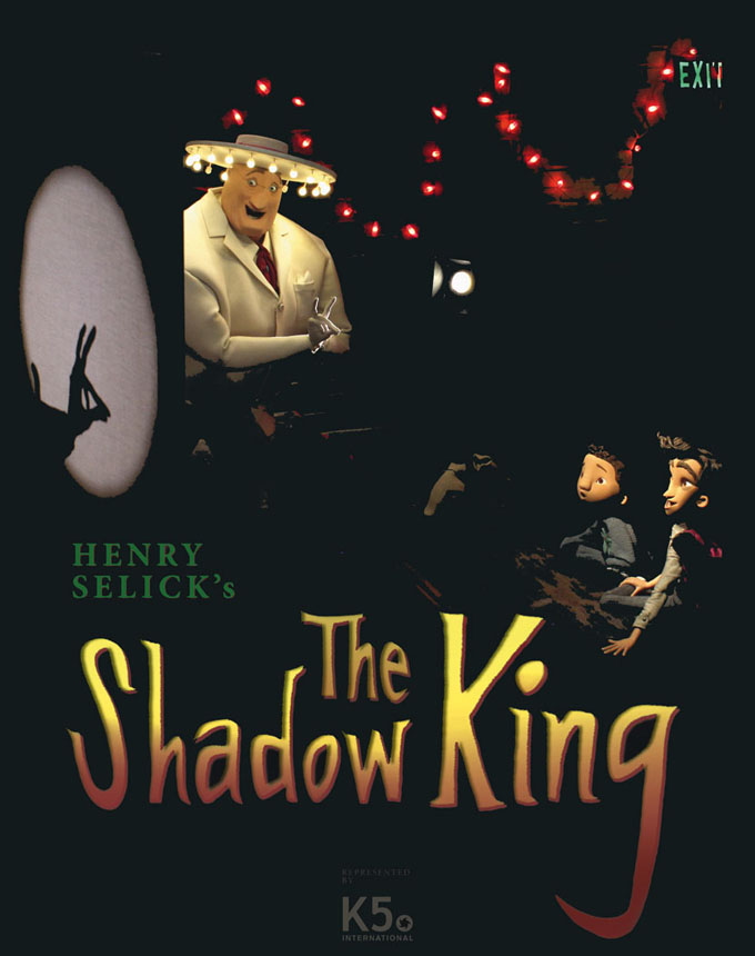 The Shadow King Sales Poster