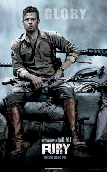 Fury, posters