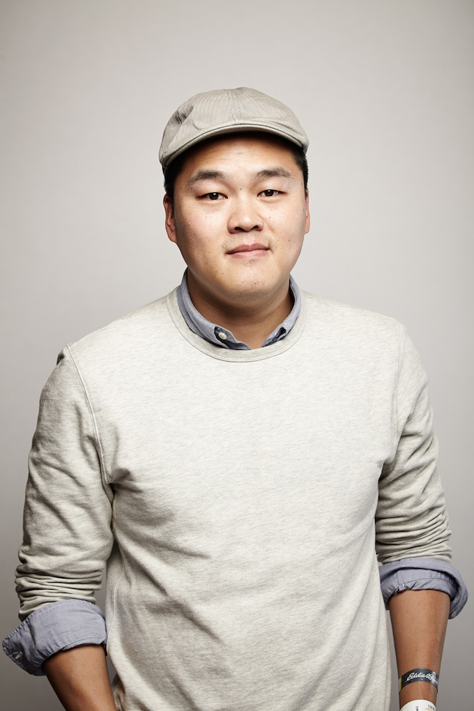 "Sam Chou, cinematographer of ""Crime: The Animated Series"" at the Canon Craft Cocktails Portrait Studio at the 2014 Sundance Film Festival"
