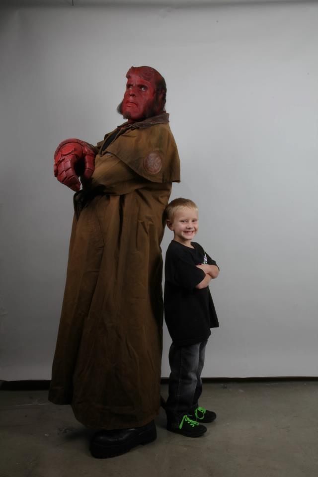 Hellboy, Ron Perlman