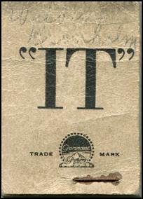 IT - Clara Bow Flip Book