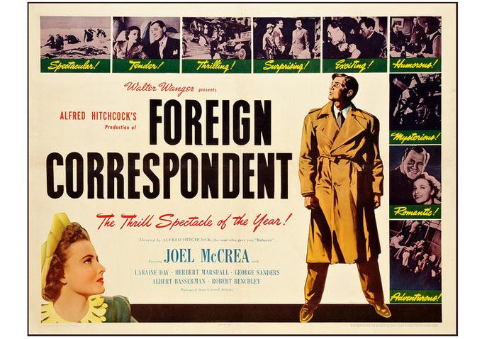 Lobby Card-foreign Correspondent-680