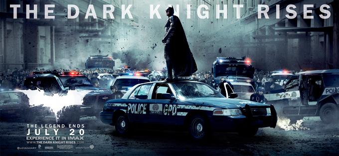 The Dark Knight Rises Batman Gotham PD