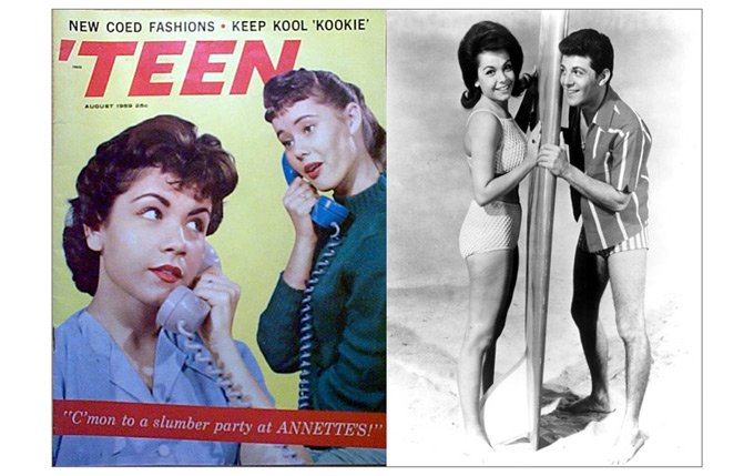 Annette Funicello-Frankie Avalon-680a