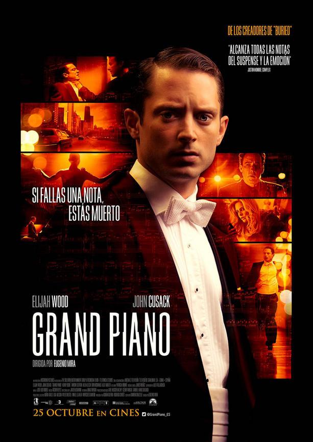 Grand Piano, Spanish poster