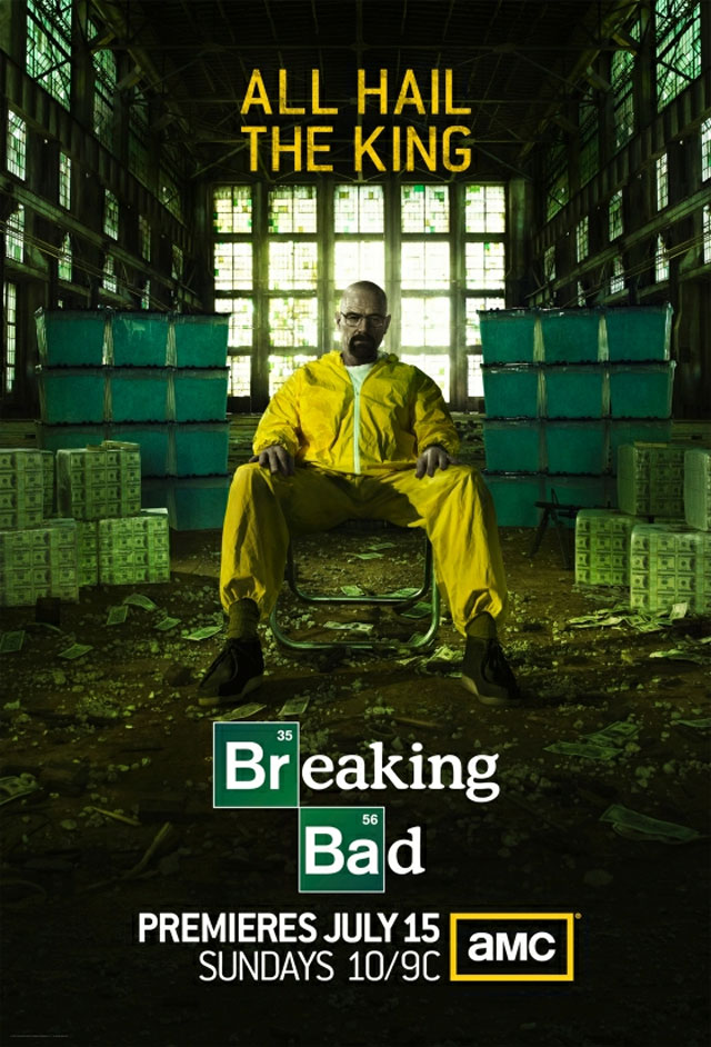 Breaking Bad Season 5 Poster skip crop