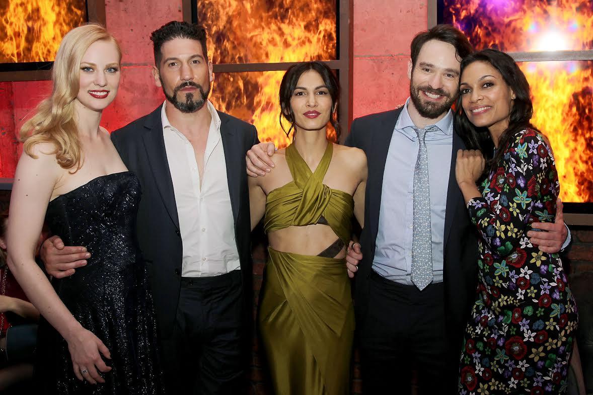 """""""Daredevil"""" Season 2 Cast Photo"""