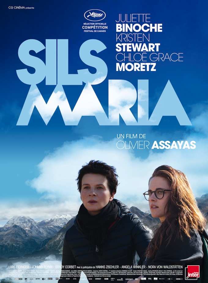 Image result for clouds of sils maria poster