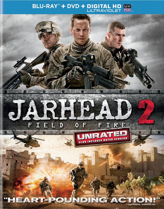 Jarhead 2: Field Of Fire DVD