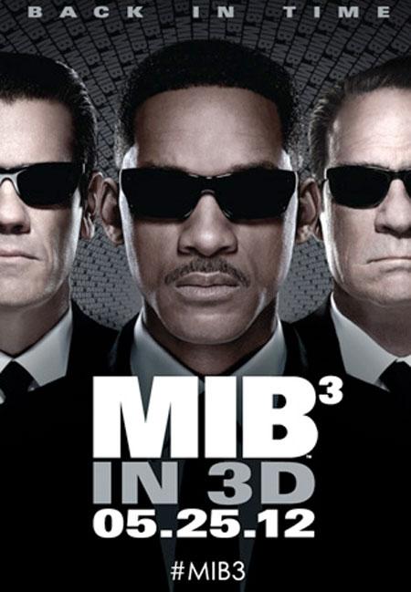 Men In Black 3D Poster