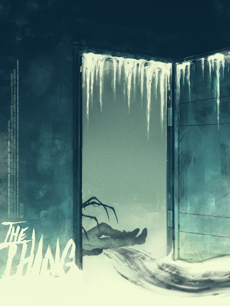 the thing sam wolfe connelly and jay shaw - Halloween Mondo Poster
