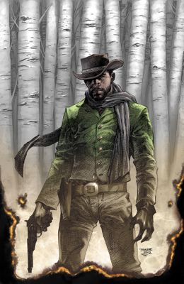 """Django Unchained"" issue #1, variant cover, by Jim Lee"