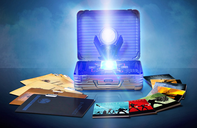 Marvel Phase 1 Boxset Package