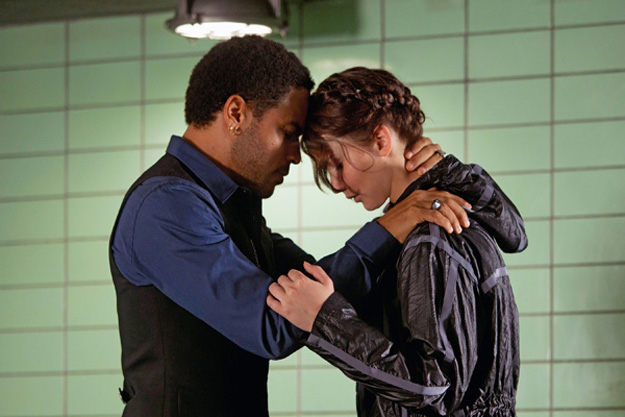 Jennifer Lawrence Lenny Kravitz Hunger Games