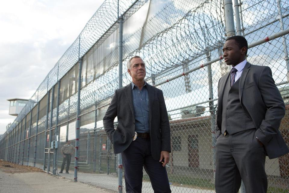 Titus Welliver and Jamie Hector in BOSCH