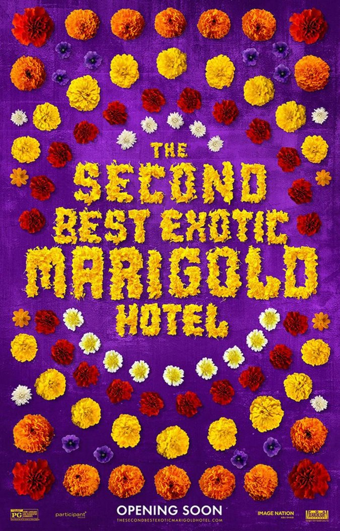 """The Second Best Exotic Marigold Hotel"" Poster"