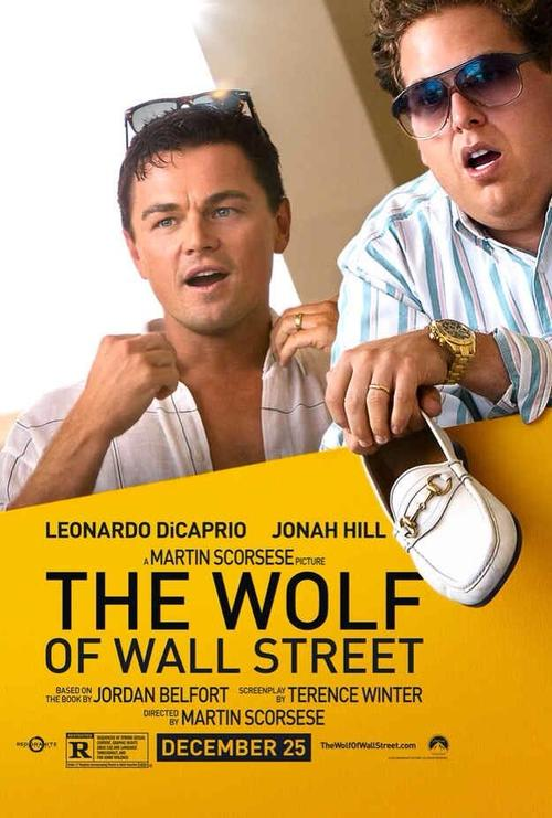 The Wolf Of Wall Street, poster
