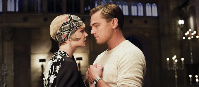 The Great Gatsby Carey Mulligan Leonardo DiCaprio skip