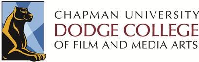 Chapman University Dodge College of Film and Media Arts logo