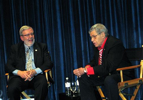 Leonard Maltin interviews Jerry Lewis